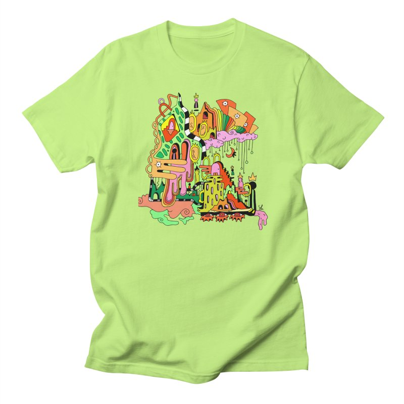 Jungle Gym Women's Regular Unisex T-Shirt by Shelby Works