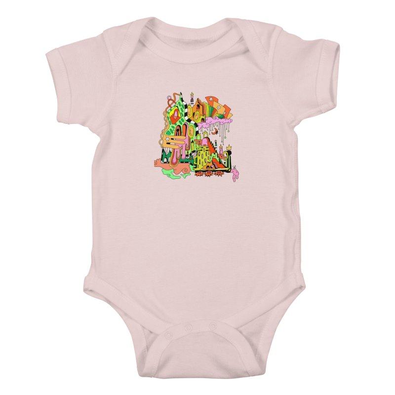Jungle Gym Kids Baby Bodysuit by Shelby Works