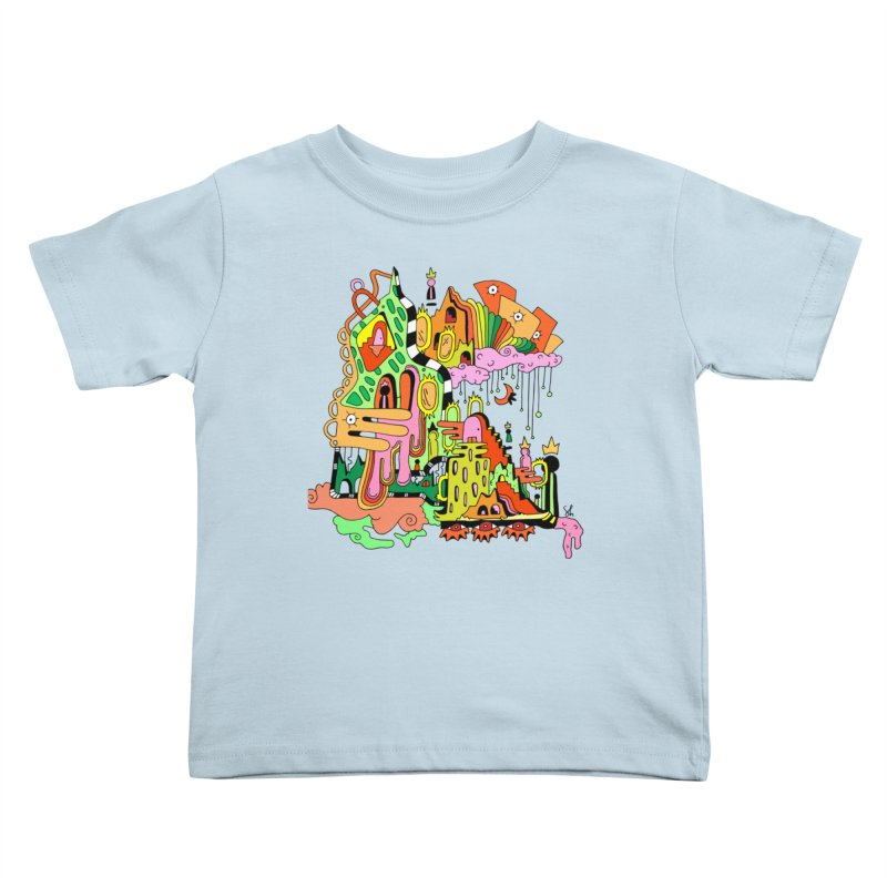 Jungle Gym Kids Toddler T-Shirt by Shelby Works