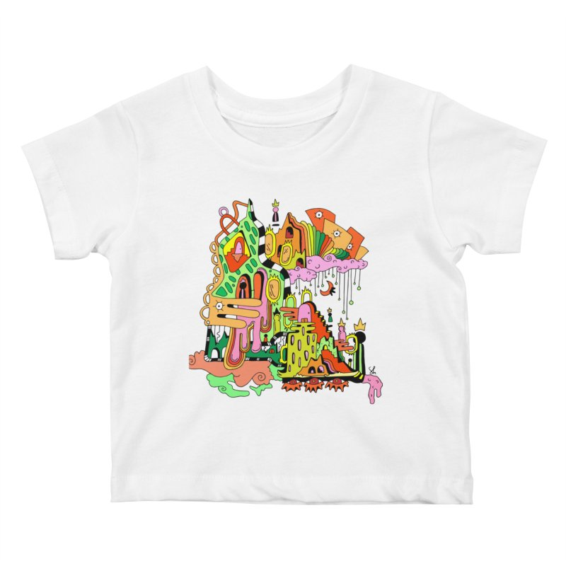 Jungle Gym Kids Baby T-Shirt by Shelby Works