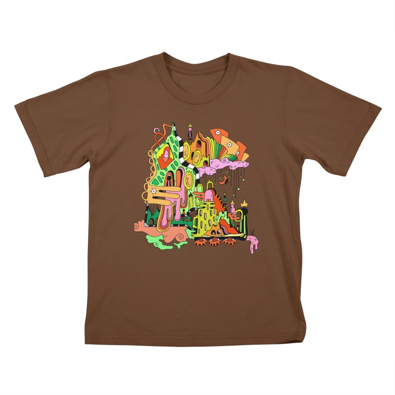 Jungle Gym Kids T-Shirt by Shelby Works
