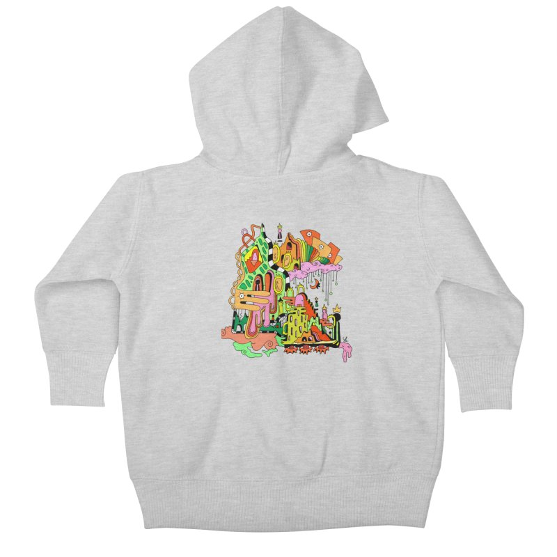 Jungle Gym Kids Baby Zip-Up Hoody by Shelby Works