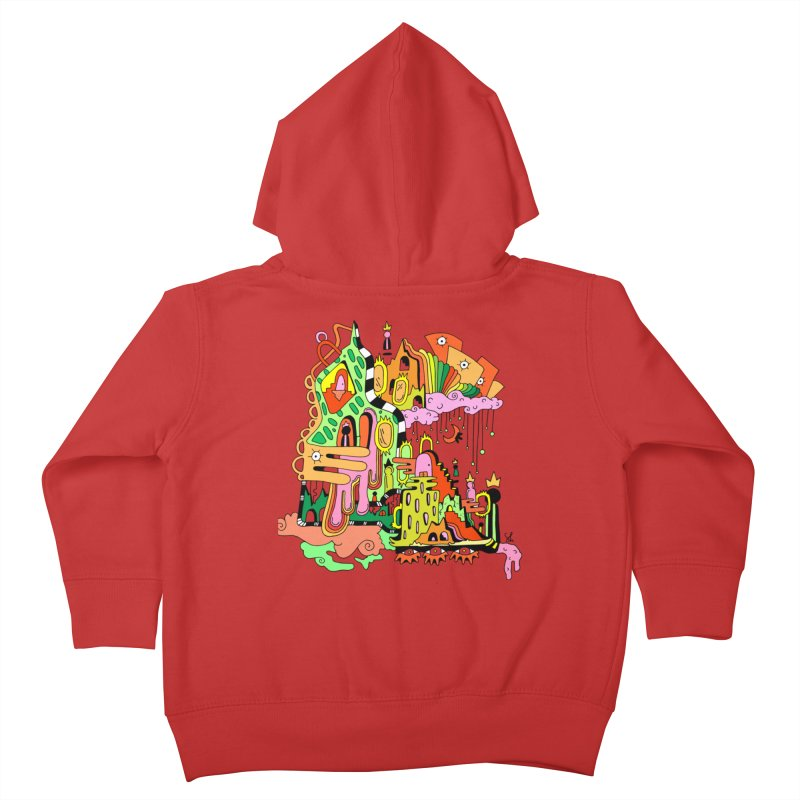 Jungle Gym Kids Toddler Zip-Up Hoody by Shelby Works
