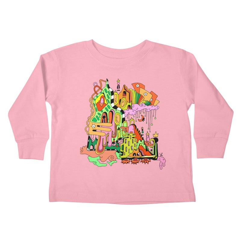 Jungle Gym Kids Toddler Longsleeve T-Shirt by Shelby Works