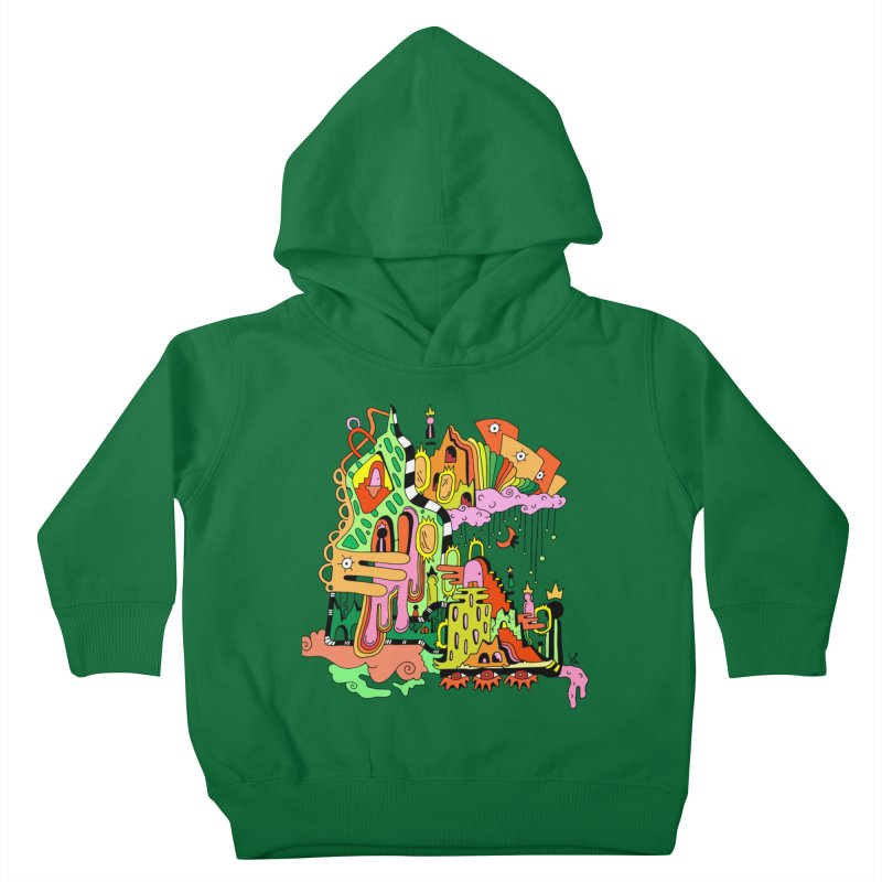 Jungle Gym Kids Toddler Pullover Hoody by Shelby Works