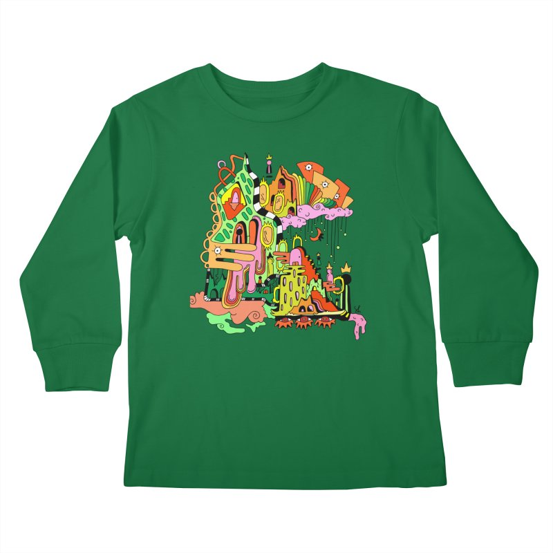 Jungle Gym Kids Longsleeve T-Shirt by Shelby Works