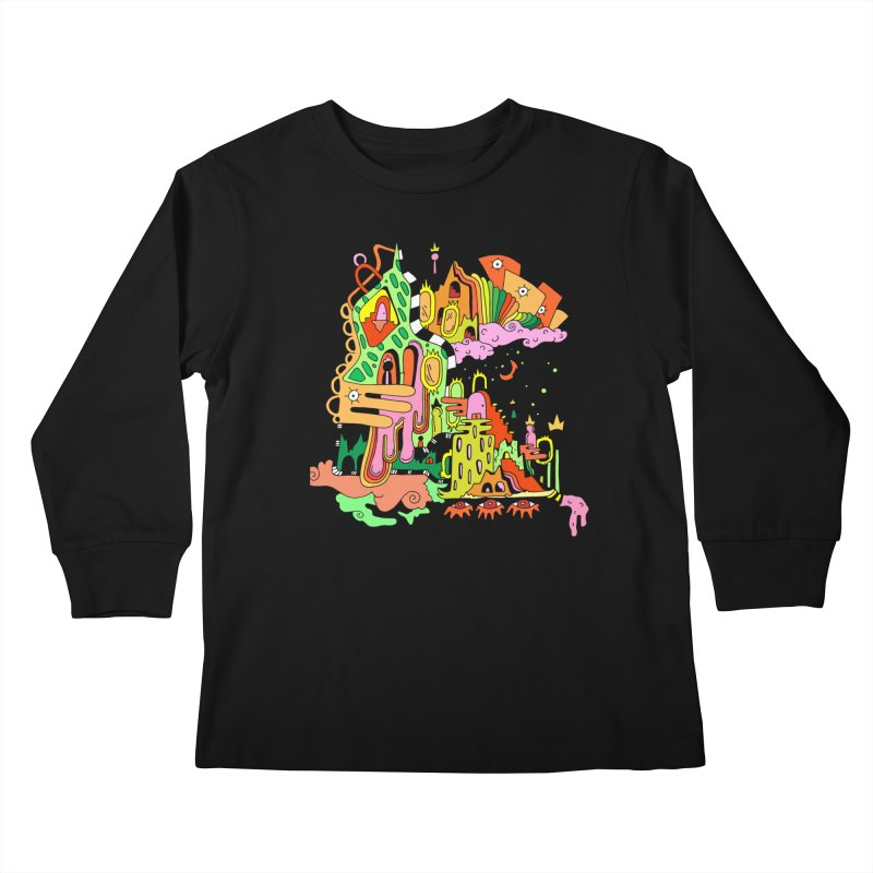 Jungle Gym Kids Longsleeve T-Shirt by Shelby Works