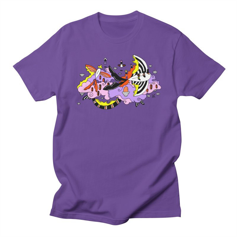 Fish Place Men's T-Shirt by Shelby Works