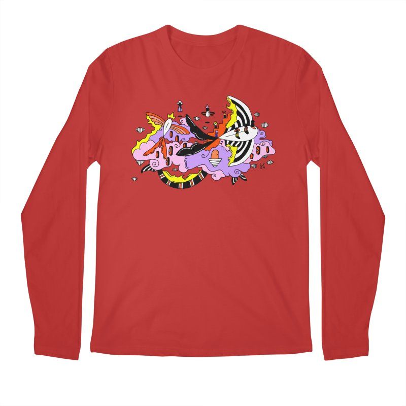 Fish Place Men's Regular Longsleeve T-Shirt by Shelby Works
