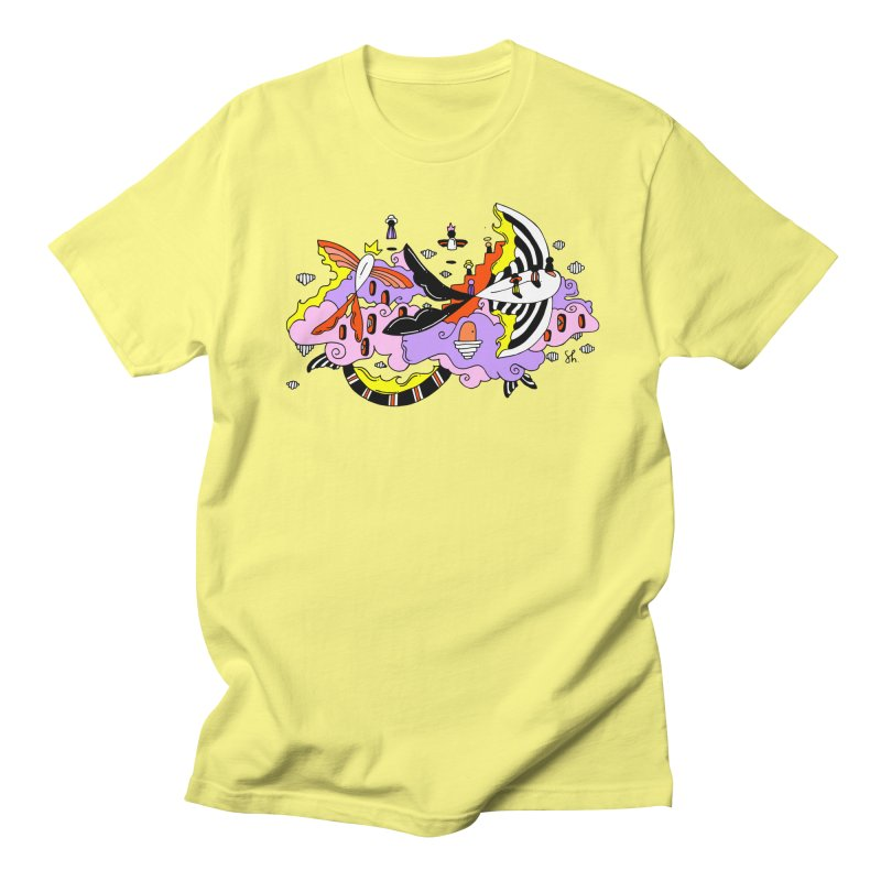 Fish Place Women's Regular Unisex T-Shirt by Shelby Works