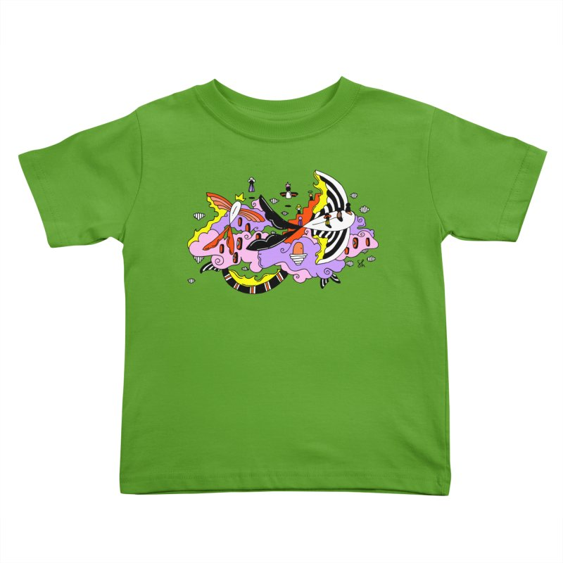 Fish Place Kids Toddler T-Shirt by Shelby Works