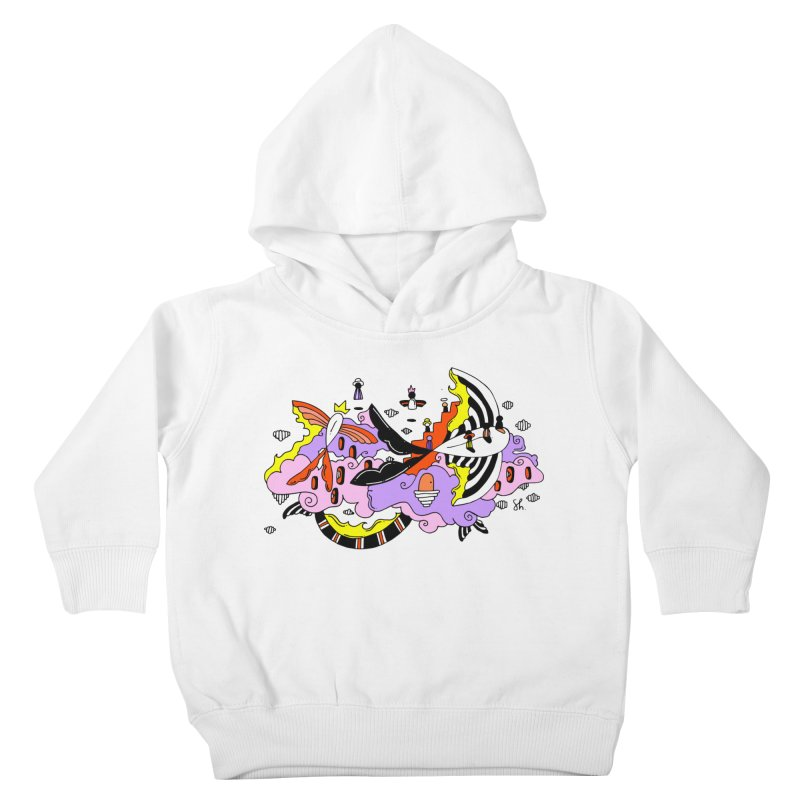 Fish Place Kids Toddler Pullover Hoody by Shelby Works