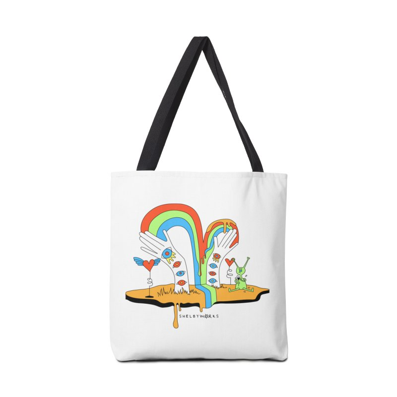 Alien Love Accessories Tote Bag Bag by Shelby Works