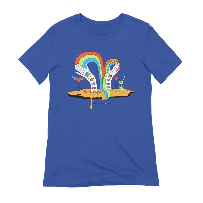 Alien Love Women's T-Shirt by Shelby Works