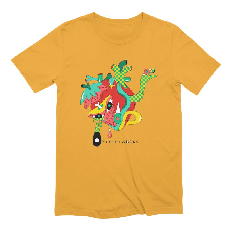 Cold Blooded Men's Extra Soft T-Shirt by Shelby Works