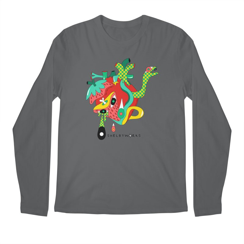 Cold Blooded Men's Regular Longsleeve T-Shirt by Shelby Works