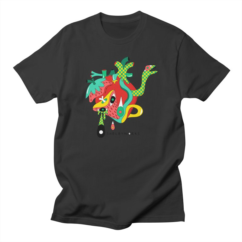 Cold Blooded Men's Regular T-Shirt by Shelby Works