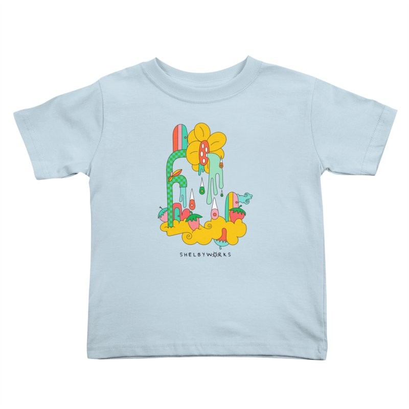 Flora Faucet Kids Toddler T-Shirt by Shelby Works