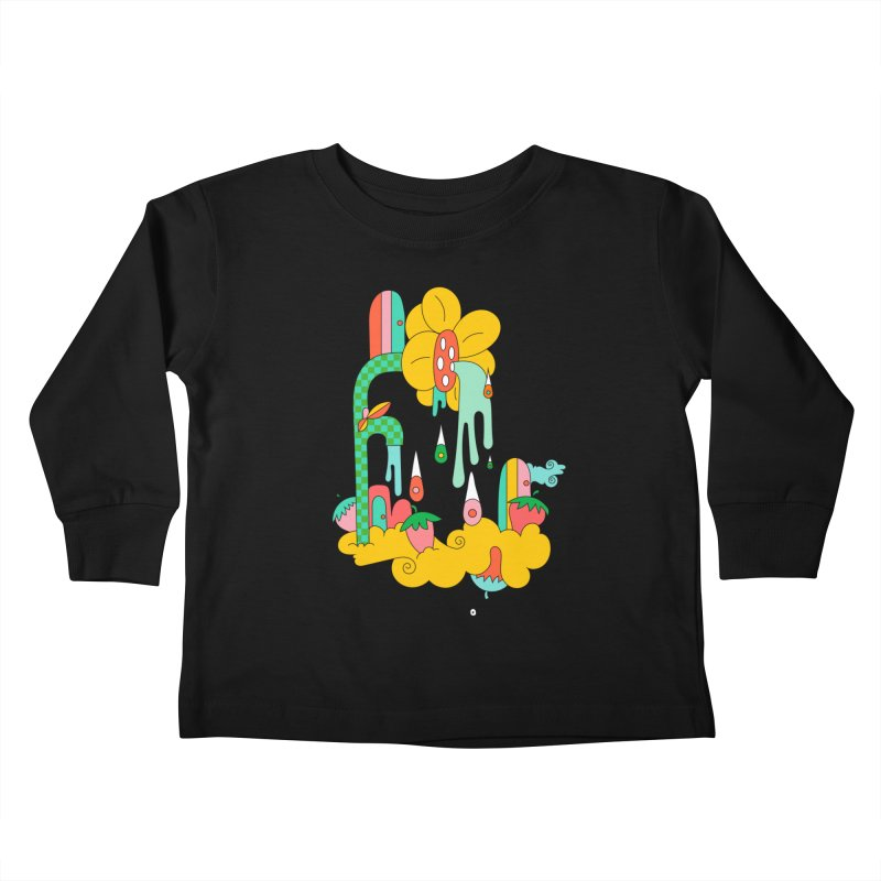 Flora Faucet Kids Toddler Longsleeve T-Shirt by Shelby Works