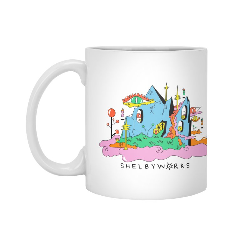 Witch Mountain Accessories Standard Mug by Shelby Works