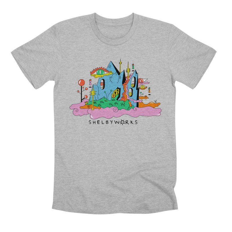 Witch Mountain Men's Premium T-Shirt by Shelby Works