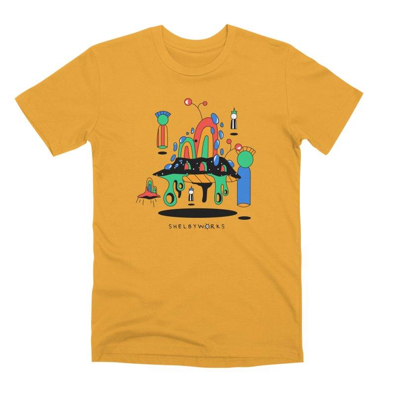 Martians Men's Premium T-Shirt by Shelby Works