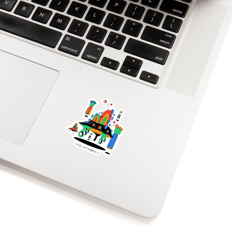 Martians Accessories Sticker by Shelby Works