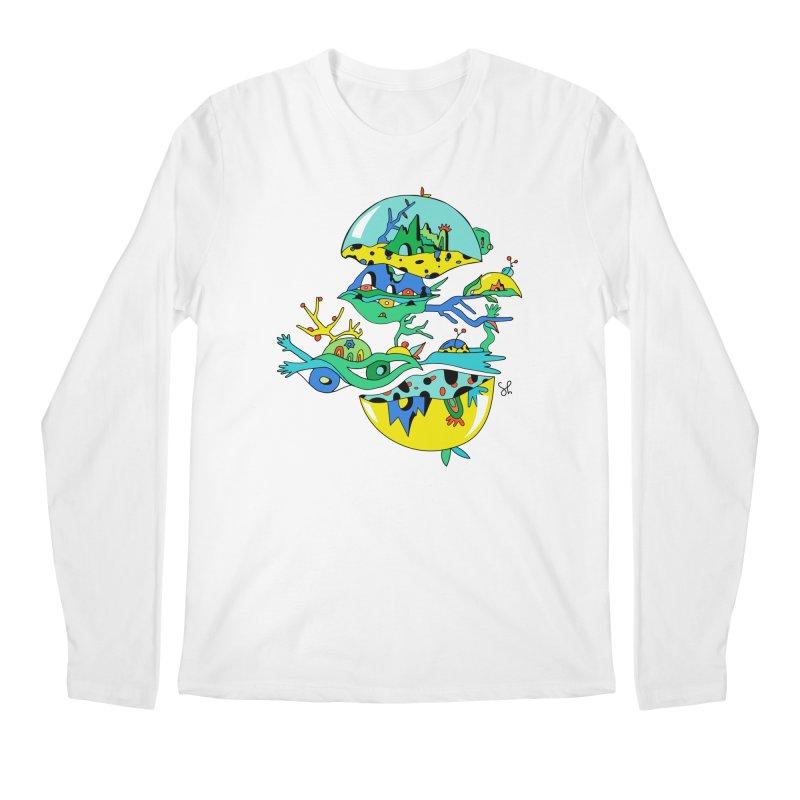 Apple Core Men's Regular Longsleeve T-Shirt by Shelby Works