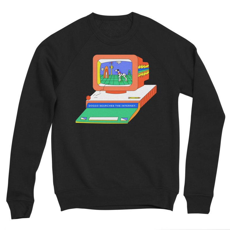 Doggo Searches the Internet Women's Sponge Fleece Sweatshirt by Shelby Works