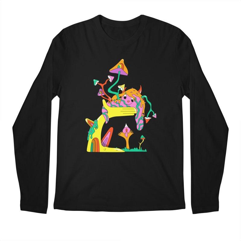 Slime Buddy Men's Regular Longsleeve T-Shirt by Shelby Works
