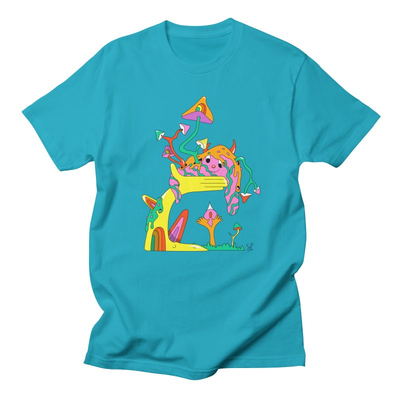 Slime Buddy Women's Regular Unisex T-Shirt by Shelby Works