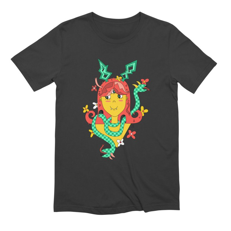 Merry Medusa Men's Extra Soft T-Shirt by Shelby Works