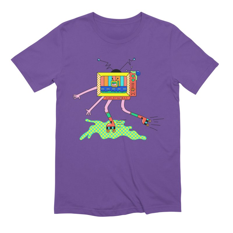 Slime Skates Men's Extra Soft T-Shirt by Shelby Works