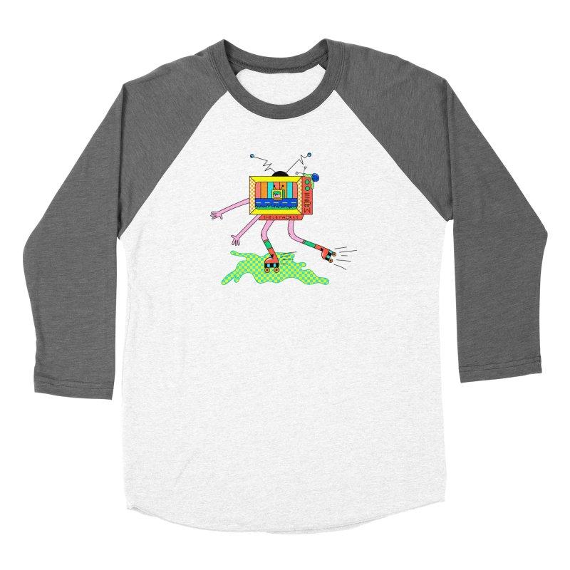 Slime Skates Men's Baseball Triblend Longsleeve T-Shirt by Shelby Works