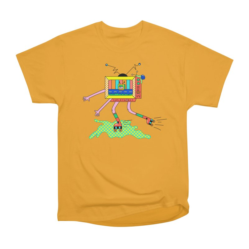 Slime Skates Men's Heavyweight T-Shirt by Shelby Works