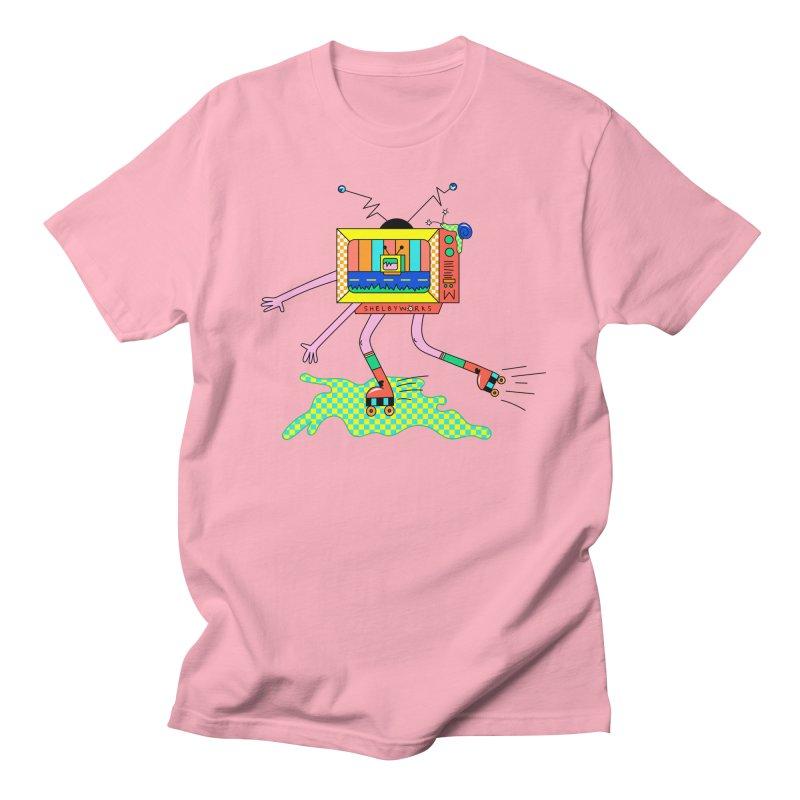 Slime Skates Men's Regular T-Shirt by Shelby Works