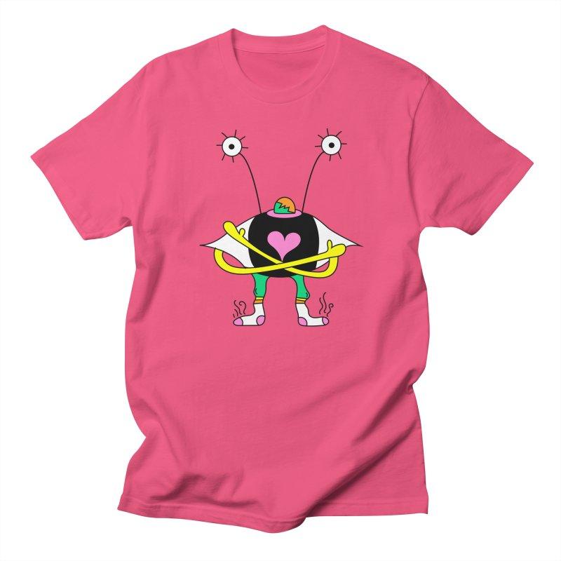 Eye Ball Buddy Men's Regular T-Shirt by Shelby Works