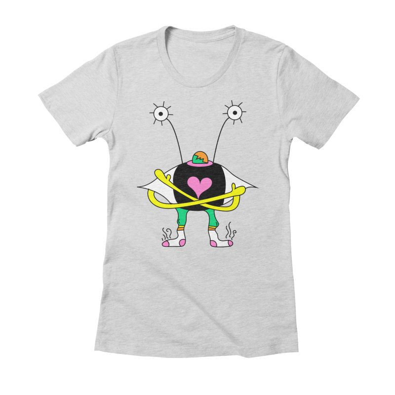 Eye Ball Buddy Women's Fitted T-Shirt by Shelby Works