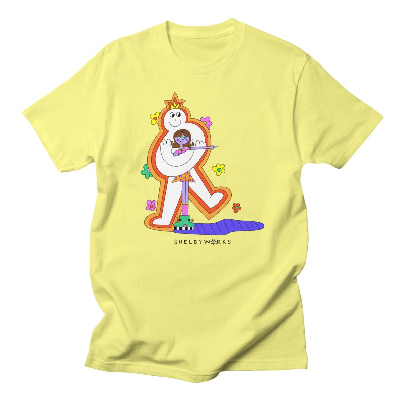 The Support Human Men's Regular T-Shirt by Shelby Works