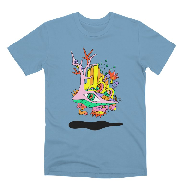 Bubble Town Men's Premium T-Shirt by Shelby Works