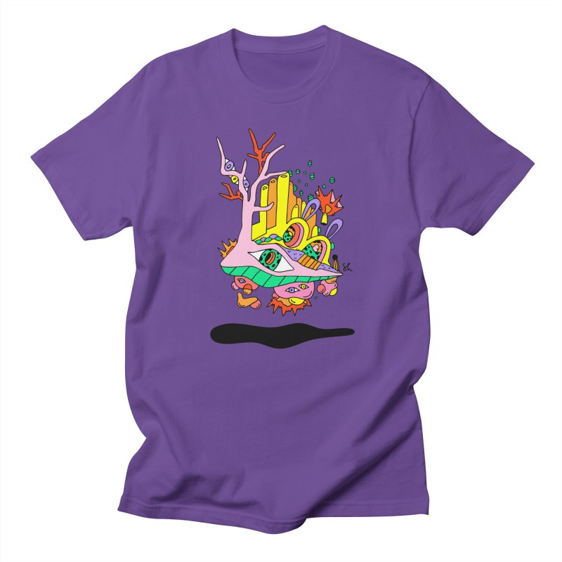 Bubble Town Men's Regular T-Shirt by Shelby Works