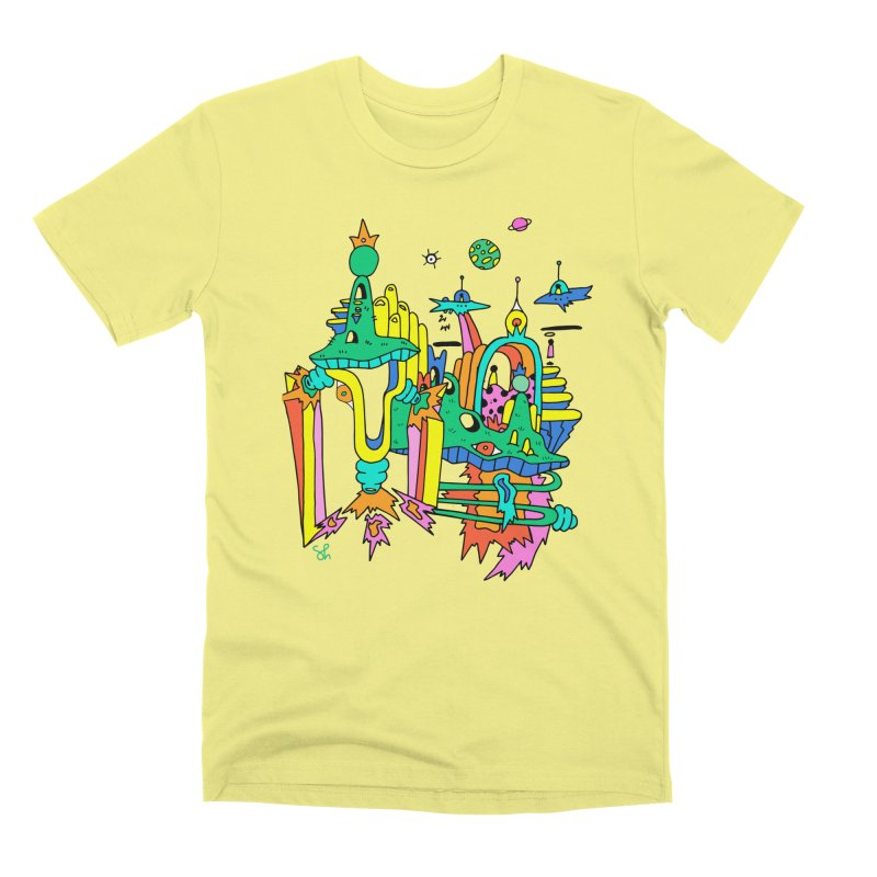 City of Color Men's Premium T-Shirt by Shelby Works