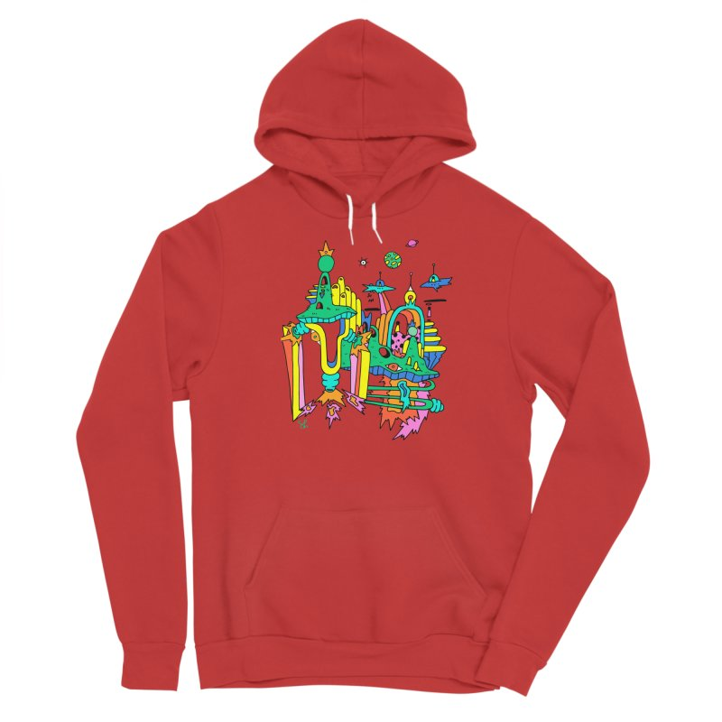 City of Color Men's Pullover Hoody by Shelby Works