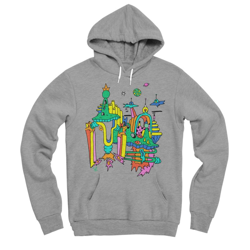 City of Color Women's Sponge Fleece Pullover Hoody by Shelby Works