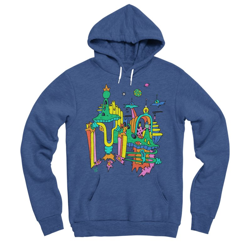 City of Color Men's Sponge Fleece Pullover Hoody by Shelby Works