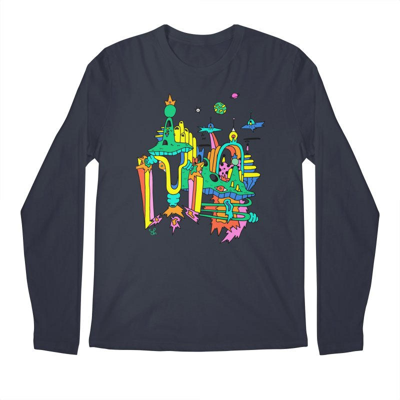 City of Color Men's Longsleeve T-Shirt by Shelby Works