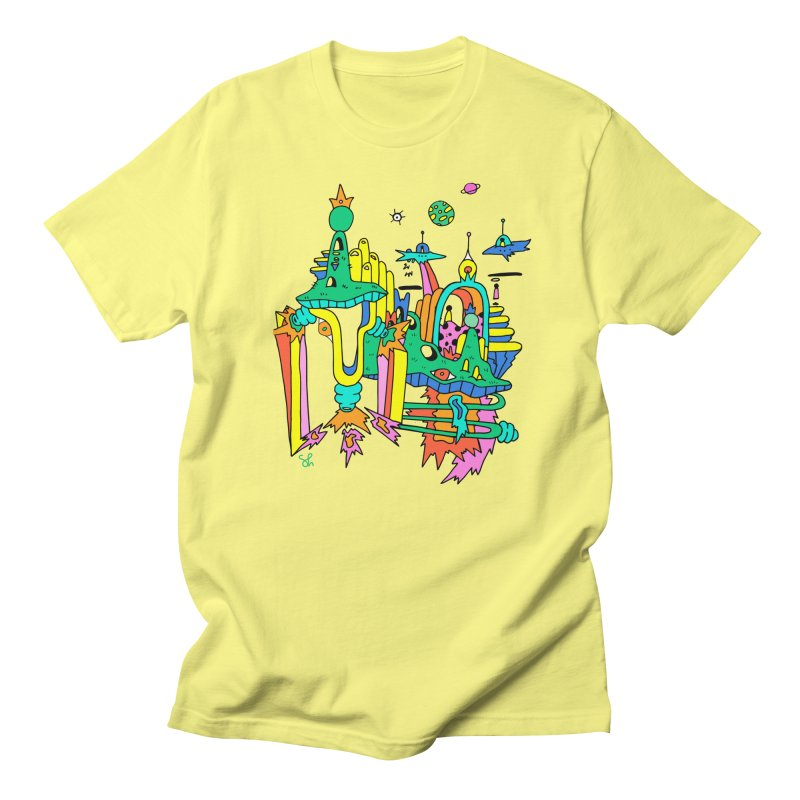 City of Color Men's Regular T-Shirt by Shelby Works