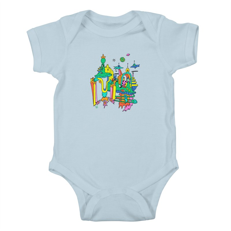 City of Color Kids Baby Bodysuit by Shelby Works