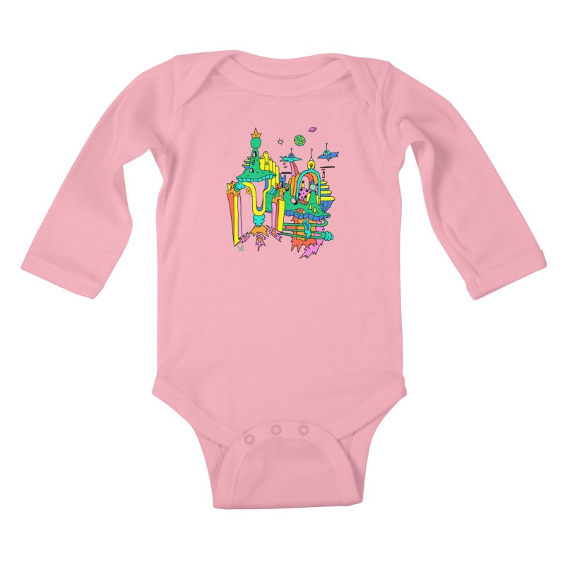 City of Color Kids Baby Longsleeve Bodysuit by Shelby Works