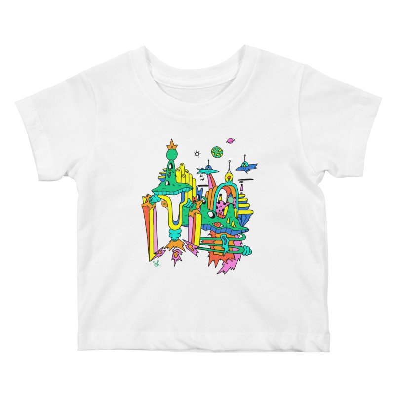 City of Color Kids Baby T-Shirt by Shelby Works